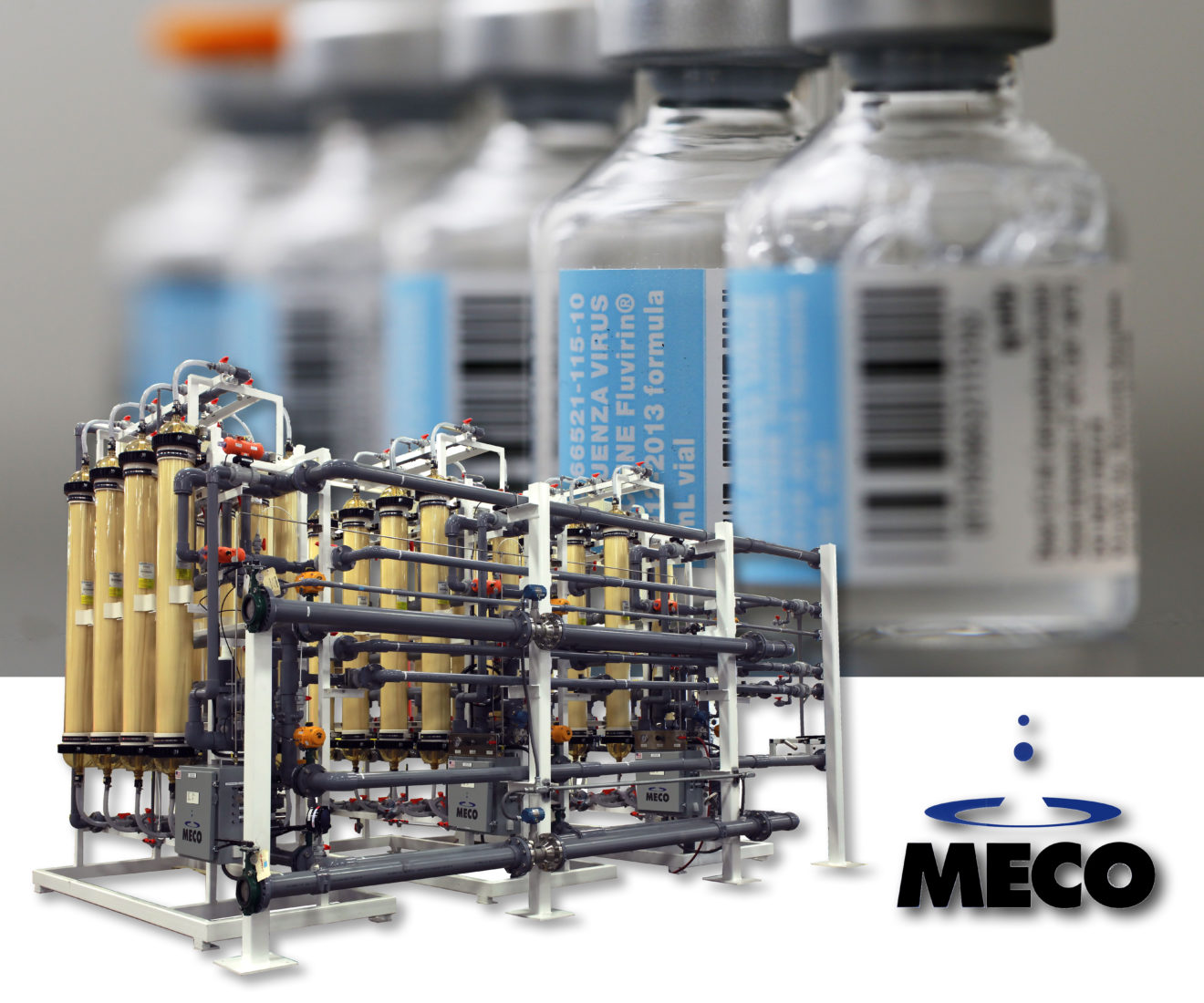 Pharmaceutical Company Uses MECO Ultrafiltration System to Help Produce Flu Vaccines