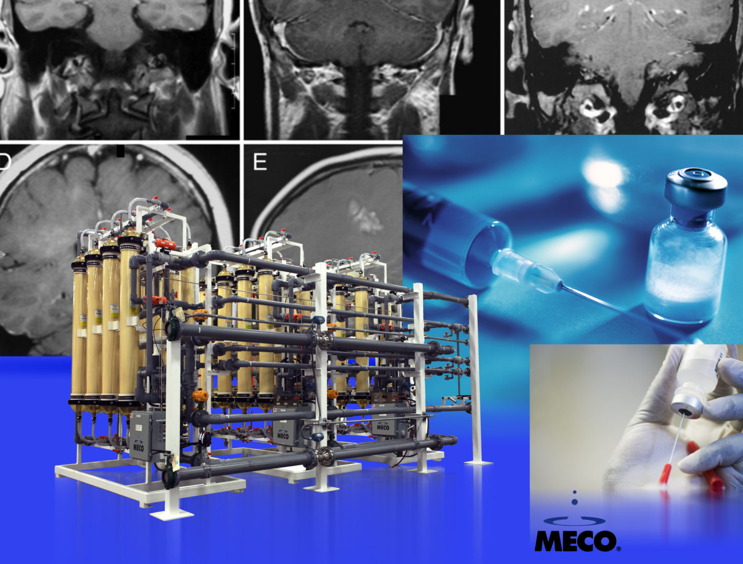 MECO Water Purification Helps Produce Multiple Sclerosis (MS) Treatments