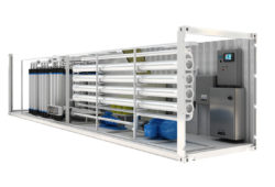 MECO Containerized Reverse Osmosis Packaged System