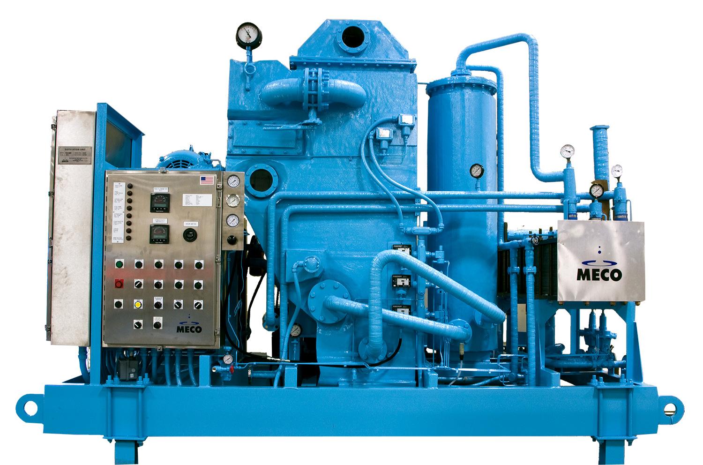Offshore Desalination - Vapor Compression   MECO