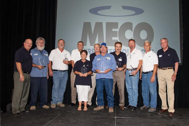 MECO Recognizes Industry Veterans with Award Ceremony