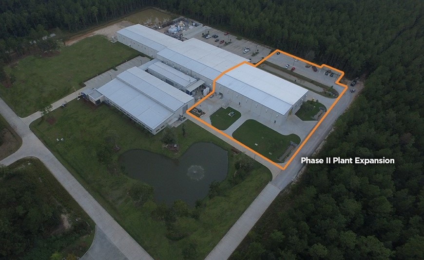 Phase II Plant Expansion