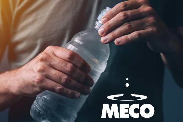 MECO bottled water